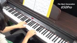 다이나톤 디지털피아노 650PRO 모차르트 피아노 소나…