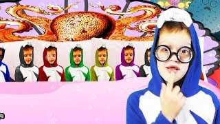 Baby Sharks Ten in the Bed song|Ten in the Bed Number Song  Nursery Rhymes song for kids