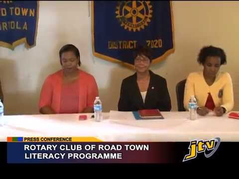 PRESS ROTARY CLUB OF ROADTOWN LITERACY PROGRAMME   15 SEPT 2015