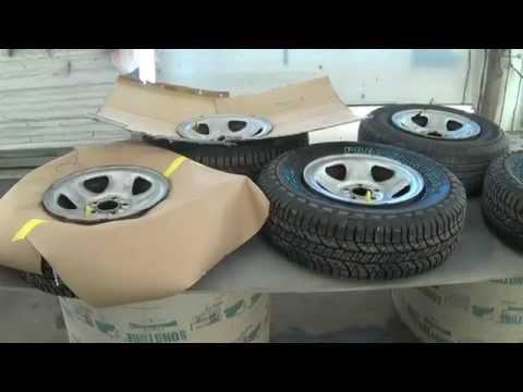 Покраска дисков на авто  (Raptor)