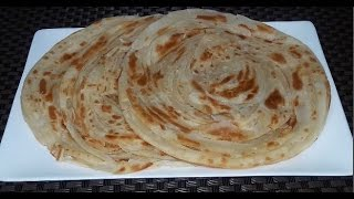 Lachha Paratha Bangla Recipe | How To Make Multilayered Porotha In Bengali