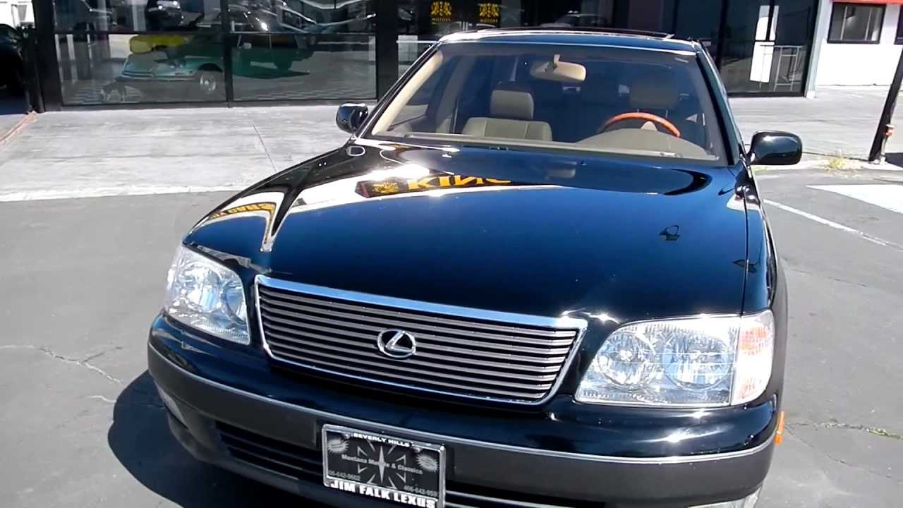 medium resolution of 1999 lexus ls400 ucf20 2 two owner 69 000 orig mi ls 400 toyota youtube