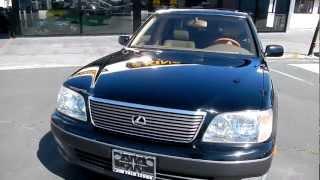 1999 Lexus LS400 UCF20 2 Two Owner 69,000 Orig mi  LS 400 Toyota