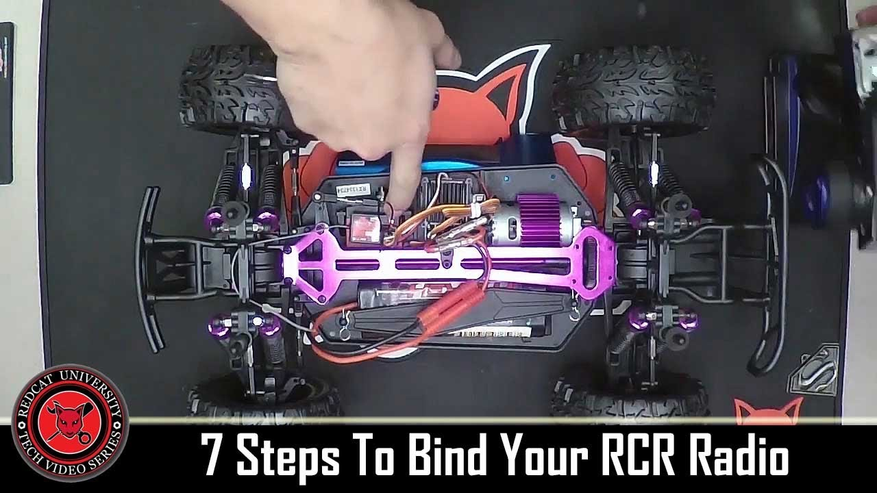 redcat wiring diagram rcu 2ch rcr 2 channel contoller bind process youtube  rcu 2ch rcr 2 channel contoller
