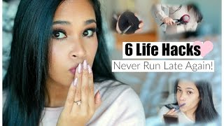 6 Life Hacks Every Girl Should Know To Never Run Late Again - Beauty & Fashion Hacks - MissLizHeart