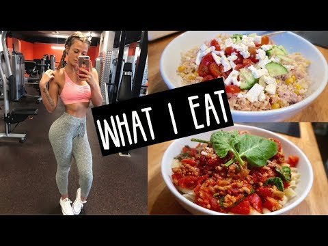 WHAT I EAT IN A DAY (healthy but not strict!!) 🍪🥦