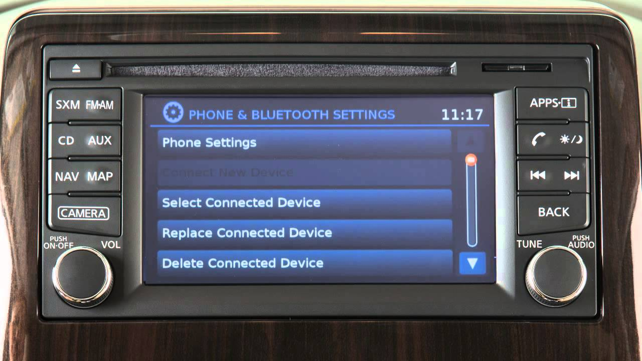 Nissan Altima: Bluetooth Hands-Free Phone System withoutNavigation System (if so equipped)