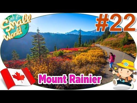 เด็กจิ๋วเที่ยว Mount Rainier USA (Canada#22)