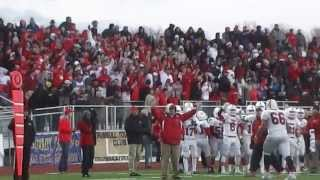 2013 CT HS Football Clips: Brendan Beiser's  LL semifinal-clinching INT (Prep vs West Haven)
