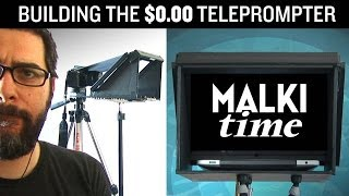 $0.00 DIY TELEPROMPTER. It