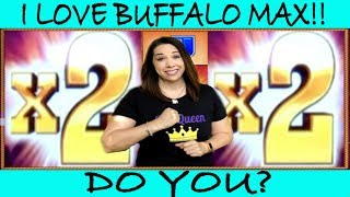 ★ BUFFALO MAX FINALLY LOVES SLOT QUEEN 🥰 KNOW WHEN TO WALK AWAY 💃🏽
