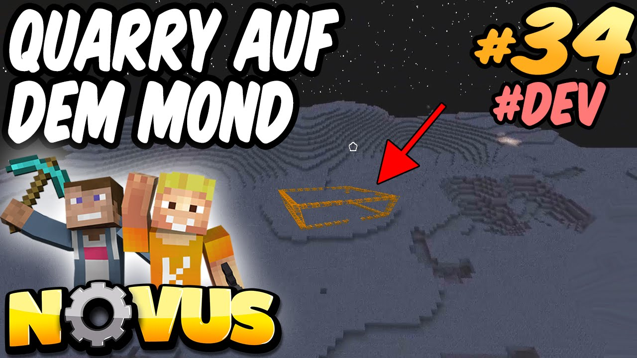 Lpmitkev reallife  QUARRY AUF DEM MOND #DEV ☆ Minecraft NOVUS #34 ☆ LPmitKev - YouTube