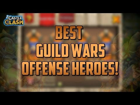 Castle Clash Best Heroes For Guild Wars Offense!