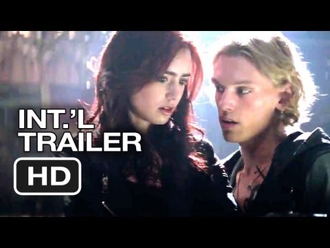 The Mortal Instruments: City of Bones Official UK Trailer (2013) - Lily Collins Movie HD