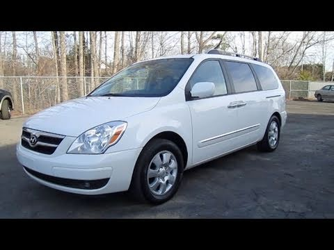 2007 Hyundai Entourage Limited Handicap Adapted Start Up Engine And In Depth Tour You