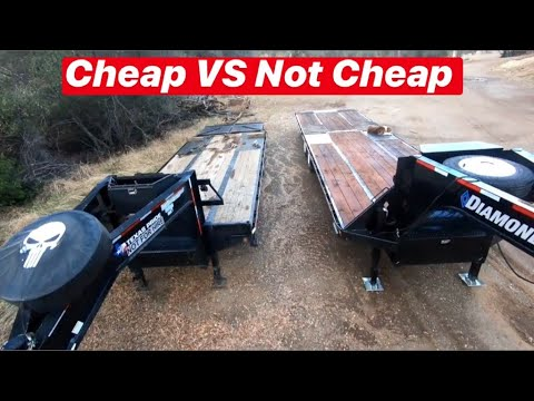 COMPARING GOOSENECK TRAILERS. IS IT WORTH THE EXTRA MONEY OR IS CHEAPER JUST AS GOOD?