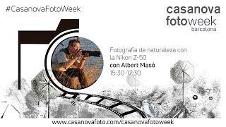 Fotografía de naturaleza con la Nikon Z-50 (Parte 2). CasanovaFotoWeek Barcelona 2019