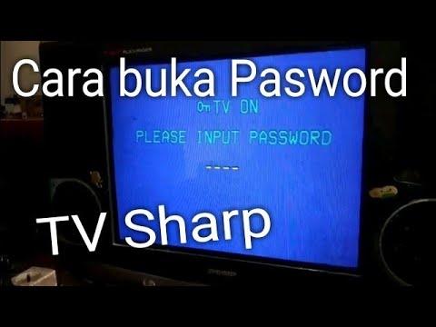 Tv sharp terkunci password (Sharp TV bloqueado password)