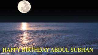 AbdulSubhan   Moon La Luna - Happy Birthday