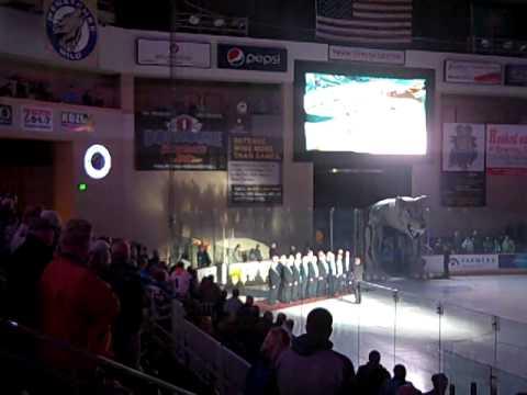 Wenatchee Apollo Club Wenatchee Wild National Anthem Nov 29 2014