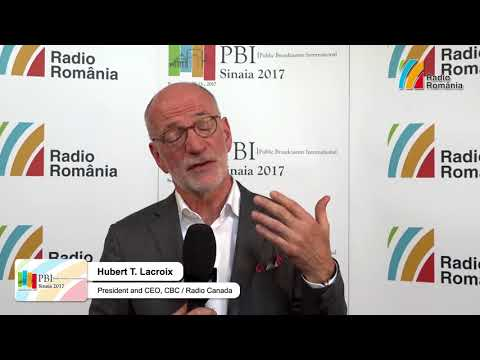 Interview Hubert T Lacroix, President and CEO, CBC/Radio-Canada, at PBI 2017