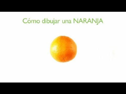 C mo dibujar una naranja frutas dibujadas youtube - Como hacer color naranja ...