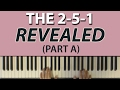 The Most Important Chord Progression: The 2-5-1 (Part A: Definitions)