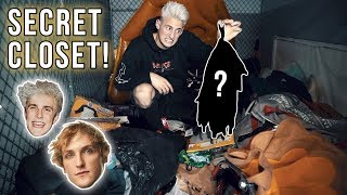 inside the paul brothers old secret closet unseen