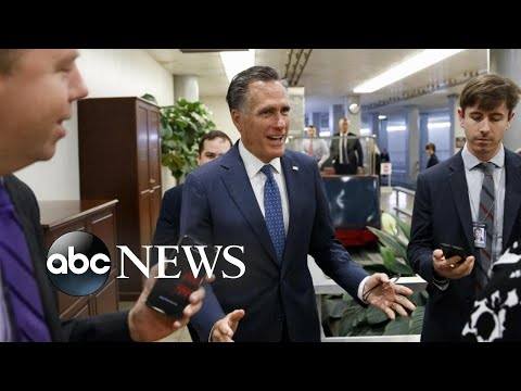 Trump goes after Mitt Romney as impeachment probe intensifies | ABC News