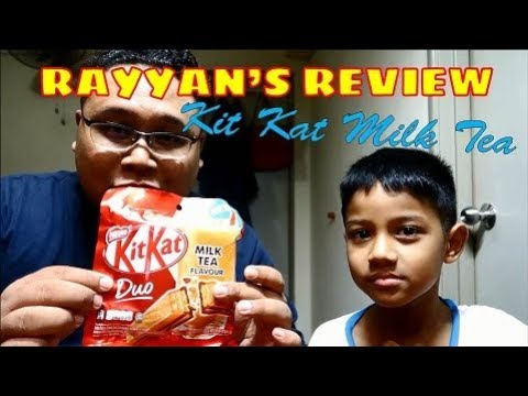 Rayyan's Review - Kit Kat Milk Tea