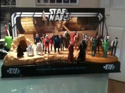 Star Wars Diorama Vintage Figure Display Stand By Pride Displays Extraordinary Star Wars Action Figure Display Stand