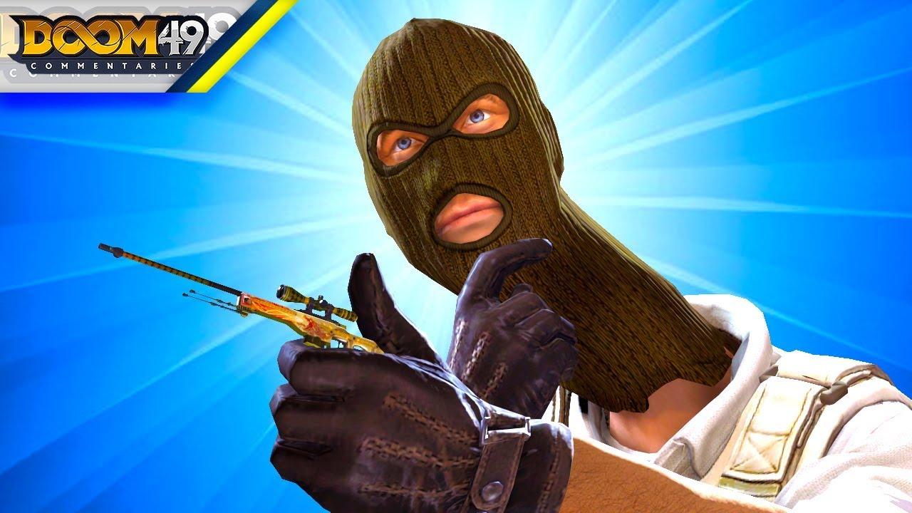 CS GO Funny Moments - Counter Strike Mini Games