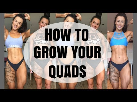 HOW TO GROW YOUR QUADS | QUAD EXERCISES | LEG TRAINING
