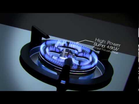 Electrolux Maxiflame Hob  YouTube