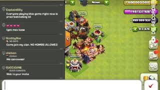 1 Peeka max vs All troops in Clash of Clans.