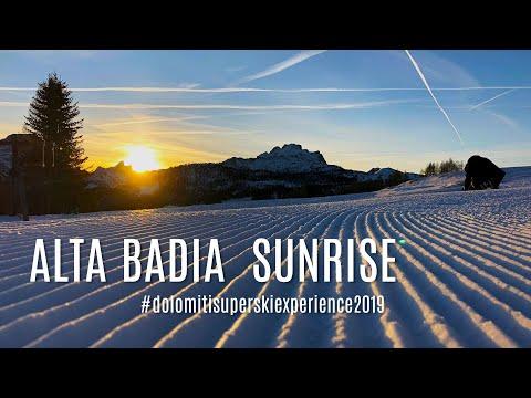 Alta Badia Sunrise - wschód słońca w Dolomitach