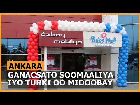 Ankara: Ganacsato Soomaali Iyo Turki Ah Oo Midoobay