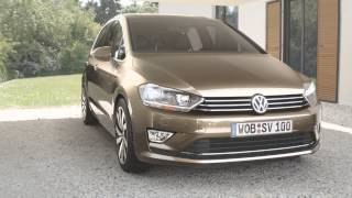 Volkswagen Golf Sportsvan Concept 2013 Videos