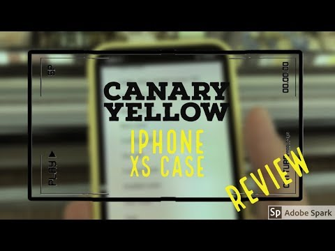 Canary Yellow Iphone XS Silicone Case Review -Works with Iphone X