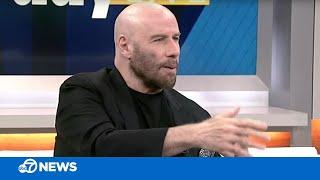 John Travolta discusses new movie 'The Fanatic'