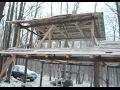 Making a maple sugar shack part 1