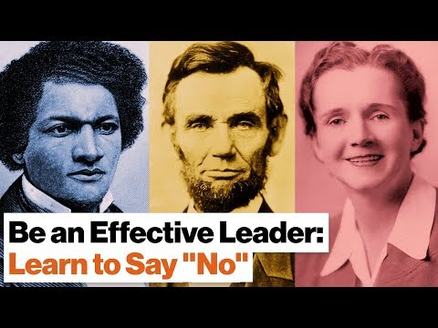 """Want to Be an Effective Leader? Learn to Say """"No"""" 