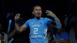 UNC Men's Basketball: Players Introduced at 2019 Late Night with Roy