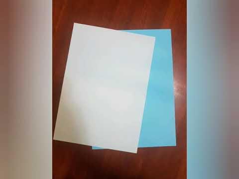 DIY paper stars...