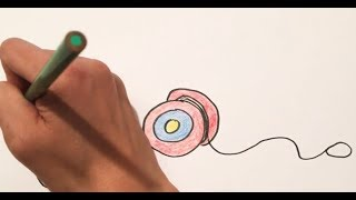 How to draw ~ Y for yo-yo