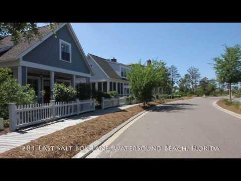WaterSound Beach Florida Vacation Rental Home, 281 East Salt Box Lane