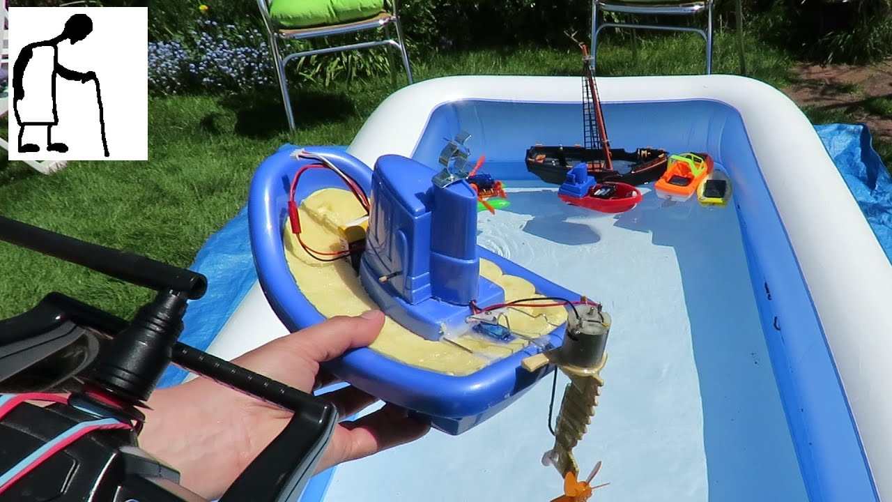 Sunny Day Paddling Pool Grandad 39 S Boats 7 Rc Child 39 S Toy