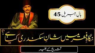 Nigah E Faqar Mein  || Allama Iqbal Poetry || Abdul Mannan Official thumbnail