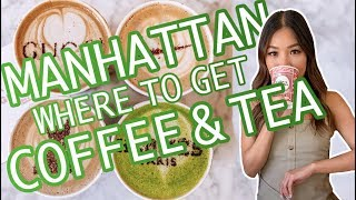14 BEST COFFEE/TEA IN MANHATTAN: NYC COFFEE SHOPS