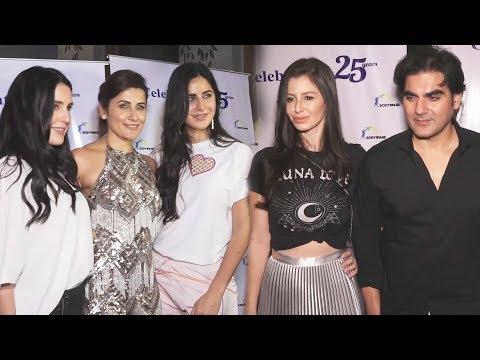 Katrina Kaif, Isabelle, Arbaaz With Girlfriend At Yasmin Karachiwala 25 Years Of Fitness Training
